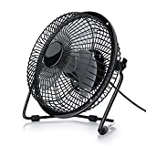 CSL - desk-fan / Fan | metal frame / fanblades | for PC / Notebook | compatible Windows / Apple | colour: black
