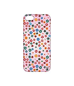 Vogueshell Flower Pattern Printed Symmetry PRO Series Hard Back Case for Apple iPhone 5s
