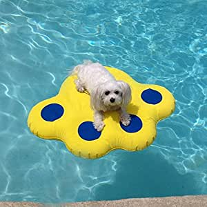 Paws Aboard Dog Pool Float Small 25 5 X 29 Pet Supplies