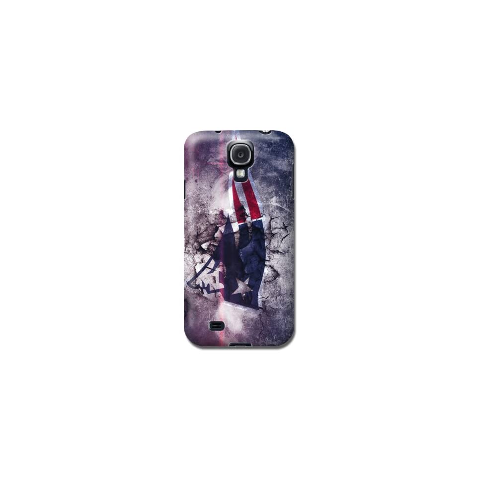 Hot Sale NFL New England Patriots Team logo samsung galaxy s4 hard case By Zql  Sports Fan Cell Phone Accessories  Sports & Outdoors