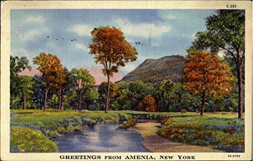 Greetings from Amenia, New York