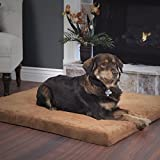 PETMAKER Orthopedic Super Foam Pet Bed - 25.5 x 19 inches - Clay