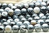 【 福縁閣 】天眼石 10mm  1連(約38cm)_R85/A1-1 天然石 パワーストーン ビーズ