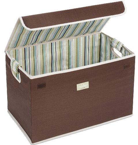 Munchkin Sarabear Toy Organizer, Brown, Small front-895913
