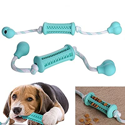 Zyurong IQ Treat Bar Dog Toy Rubber Ball Chew Treat Pet Dog Puppy Doggy Toy Training Play