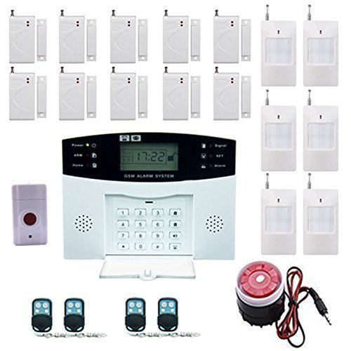 Lowest Price! Ag-securityTM High efficiency security system 99+8 zone Automatic alarm GSM SMS Home B...