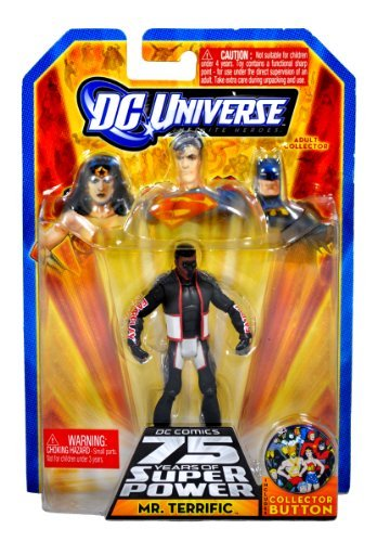 DC Universe Infinite Heroes 75 Years of Super Power Action Figure Mr. Terrific - 1