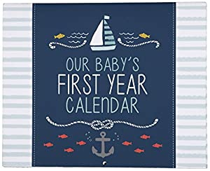 Carter's First Year Calendar, Under The Sea