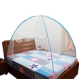 Anboo RIO Olympic Games Fashion Mosquito Nets Bottomed Keeps Away Insects & Flies House Indoor Outdoor Play Tent (M, Blue)