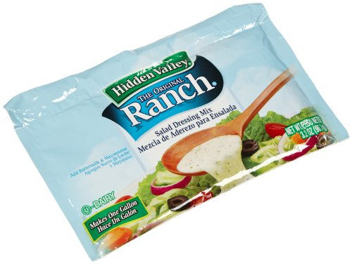 Hidden Valley Ranch Salad Dressing Mix, Original, 3.5-Ounce Packages (Pack of 6)
