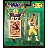 ANTONIO FREEMAN / GREEN BAY PACKERS 2000-2001 NFL Starting Lineup Action Figure & Exclusive NFL Collector Trading Card ~ Starting Line Up