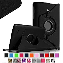 Fintie LG G Pad 7.0 Case - 360 Degree Rotating Stand Case Cover with Auto Sleep / Wake Feature for LG G Pad V400 / V410 (LTE) / VK410 / UK410 / LK430 (G Pad F7.0) 7-Inch Android Tablet - Black