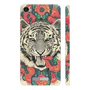 Enthopia Designer Hardshell Case Spot the Tiger Back Cover for Lava Iris X8