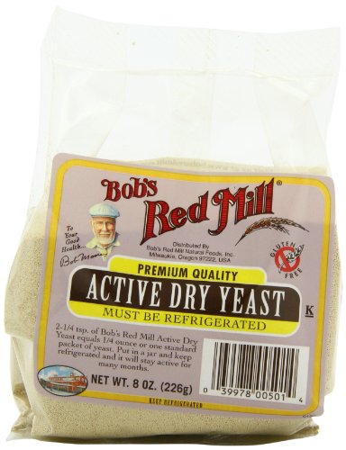 Bob's Red Mill Active Dry Yeast, 8-Ounce Packages (Pack of 8), Grocery Direct