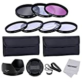 Neewer® 52MM Professional Lens Filter and Close-up Macro Accessory Kit for Canon EOS 400D/ Xti;450D / Xsi; 1000D/ XS; 500D/T1i;550D/ T2i;600D/T3i; 650D/T4i;700D/T5i;100D;1100D; Nikon Sony Samsung Fujifilm Pentax and Other DSLR Camera Lenses with 52MM Fil