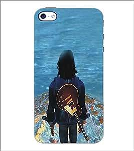 APPLE IPHONE 4 GUITAR BOY Designer Back Cover Case By PRINTSWAG
