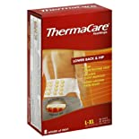 ThermaCare Heat Wraps, Lower Back & Hip, L-XL 2 heat wraps