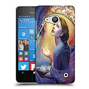Snoogg Angels in Heaven Designer Protective Back Case Cover For Nokia Lumia 550