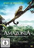 DVD Cover 'Amazonia - Abenteuer im Regenwald