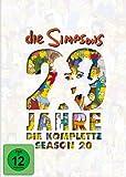 DVD Cover 'Die Simpsons - Die komplette Season 20: 20 Jahre Simpsons [4 DVDs]