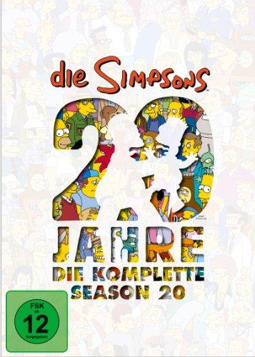 Die Simpsons - Die komplette Season 20: 20 Jahre Simpsons [4 DVDs] hier kaufen