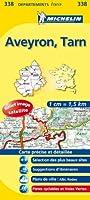 Carte DPARTEMENTS Aveyron, Tarn
