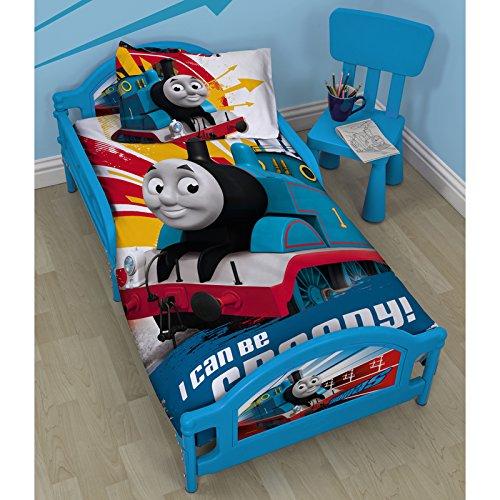 Thomas The Tank Engine pour enfant avec matelas en mousse Deluxe