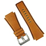 B & R Bands Pumpkin Spice Horween Leather Bell and Ross BR01/ BR03 Replacement Watch Band Strap