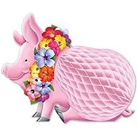 Beistle 55334 Luau Pig Centerpiece, 1…