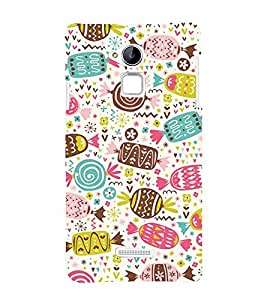 Cakes Cookies Chocklet 3D Hard Polycarbonate Designer Back Case Cover for Coolpad Note 3