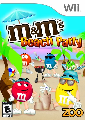 M&M's Beach Party - Nintendo Wii - 1