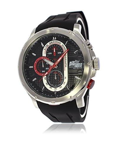 Pit Lane Reloj con movimiento Miyota Pl-1014-1 Negro 45 mm