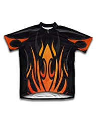 Fire Blaze Short Sleeve Cycling Jersey for Women