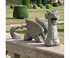 The Dragon of Falkenberg Castle Moat Lawn Sculpture