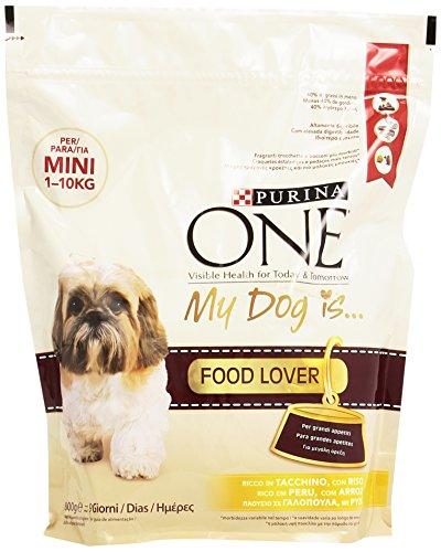 One - Alimento Completo Per Cani Adulti, Ricco In Tacchino, Con Riso - 800 G