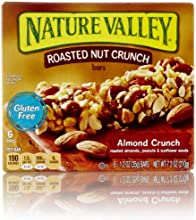 Nature Valley Roasted Nut Crunch Granola Bars, Almond Crunch, 6 Count
