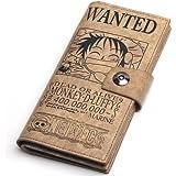 One Piece Portefeuille , Monkey·D·Luffy Porte-monnaie Bourse - 19 * 9.5 cm