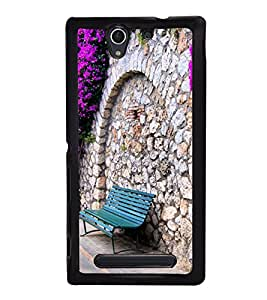 Beautiful Pathway 2D Hard Polycarbonate Designer Back Case Cover for Sony Xperia C4 Dual :: Sony Xperia C4 Dual E5333 E5343 E5363