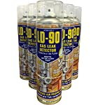 (PACK OF 4) 400ml LD-90 Gas Leak Detector Spray - VOSA approved gas leak spray by Action Can