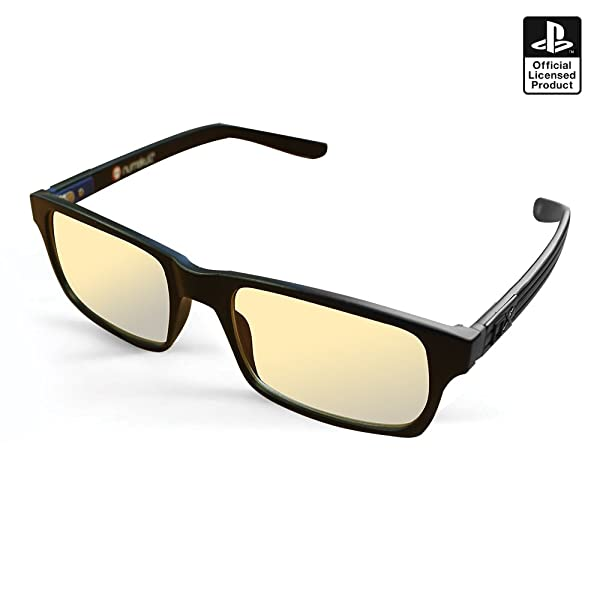 PS4 GLASSES - Sony PS4 Official Pro Anti-glare protection anti fatigue anti UV Blue Light block glasses for PS4 / PC / Xbox / PS3 / Nintendo)