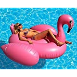 Giant Flamingo Inflatable Pool Toy- 80 Inches USA Seller.
