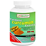 Turmeric Curcumin 500 mg 120 Capsules by imp Nutriitons -- with 95% Curcuminoids for Maximum Health & Vitality! Strongest & Most Effective, Pure & Natural, No Artificial Ingredients, Best Saffron Alternative, Safe & Easy. Powerful Antioxidants, Full Money Back Guarantee!