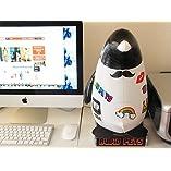 「めざましテレビ」で紹介されました! スマートフォン・パソコンともつながる! ペット型バルーンスピーカー AUDiO PETS/オーディオペット ペンギン 4701