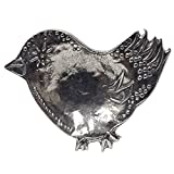Pewter Bird Tea Bag Caddy