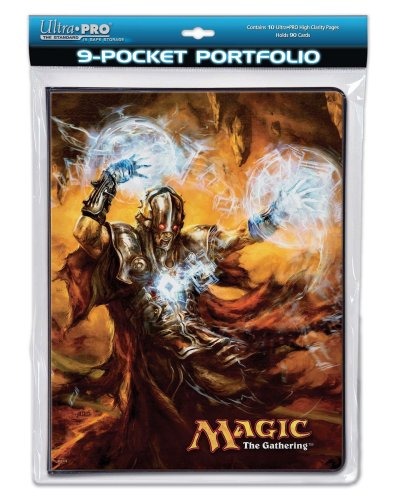 Utra Pro The Magic the Gathering (MTG) - (Future Sight Gaming Supplies) Venser, Shaper Savant & Tombstalker - Combo Portfolio Album (9 Pocket Trading Card Binder)