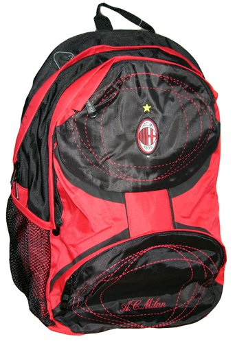 AC Milan Serie A League Soccer Futbol Backpack