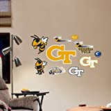 Fathead NCAA Georgia Bulldogs Georgia Tech Team Logo Assortment Junior Wall Graphic at Amazon.com