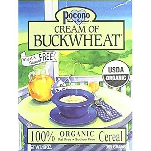 Pocono Organic Cream of Buckwheat Cereal (6x13 oz.) цены онлайн