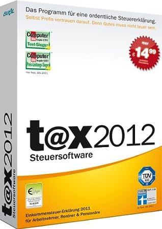 t@x 2012 (für Steuerjahr 2011)