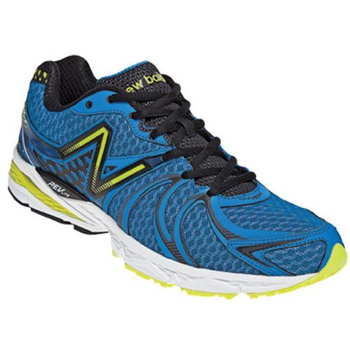 036ddfeb4dcbe New Balance Men s M870v2 Light Stability Running Shoe Blue Black 13 ...